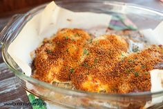 cheddar ranch chicken recipe. I made this tonight and liked how fast it was. I used bread crumbs instead of panko and butter on the top instead if cooking spray.