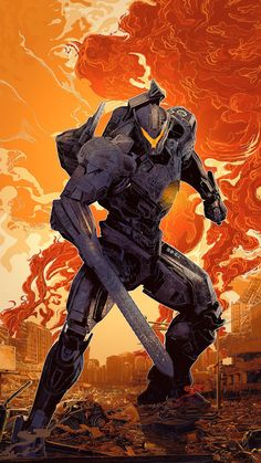 Check Out These Slick Pacific Rim Uprising IMAX Posters Pacific Rim Uprising has released a new TV spot and IMAX posters highlighting the jaegers that are going to save humanity. The new film pic. Pacific Rim Kaiju, Pacific Rim Jaeger, King Kong, 3d Kino, Robot Concept Art, 3d Laser, 2018 Movies, Alternative Movie Posters, Chef D Oeuvre