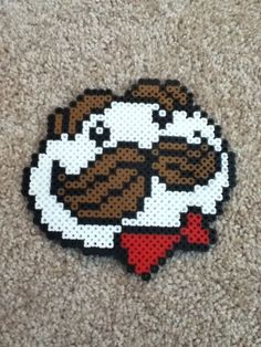 Pearler Beads Ideas Awesome – Famous Last Words Quilting Beads Patterns Easy Perler Bead Patterns, Melty Bead Patterns, Perler Bead Templates, Diy Perler Beads, Perler Bead Art, Pearler Beads, Fuse Beads, Beading Patterns, Peyote Patterns