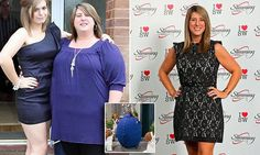 Mum shamed into losing 10 stone after looking like a 'giant blueberry'