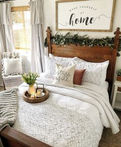 21 Enchanting Farmhouse Bedroom Ideas Anyone Can Replicate 14 Get All Ideas Abou. 21 Enchanting Farmhouse Bedroom Ideas Anyone Can Replicate 14 Get All Ideas About Home Farmhouse Master Bedroom, Modern Bedroom, Contemporary Bedroom, Cozy Bedroom, Farm Bedroom, Cottage Bedrooms, Rustic Bedrooms, Budget Bedroom, Bedroom Green