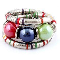 Bohemian Style Bracelet Stunning Bohemian Style Beaded Multilayer Bracelet  Size: Adjustable  Materials: Silver-tone Base Metal, Resin  Nickel & Lead Free  Condition: New Jewelry Bracelets