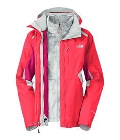 The North Face Women s Jackets  amp  Vests INSULATED 3-IN-1 JACKETS WOMEN S 38e4e1c56bf7