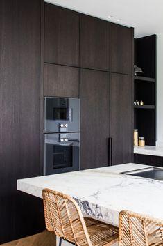 Luxury Kitchen Design, Kitchen Room Design, Kitchen Dinning, Interior Design Kitchen, Modern Interior, Loft, Beautiful Kitchens, Home Kitchens, New Homes