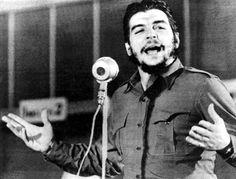 """Ernesto """"Che"""" Guevara:  Die ausladenden Gesten waren sein Markenzeichen...."""