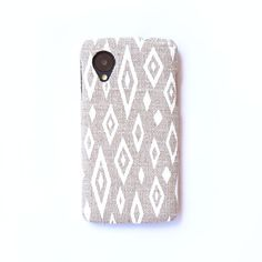 Handmade Linen Samsung Galaxy phone case on Etsy