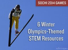 6 Winter Olympics Themed STEM Resources from @edutopia