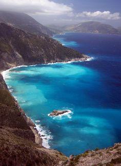 Myrtos Gulf, - Keffalonia, Greece | Wonderful Places