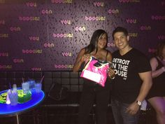 The Reality Star BIG ANG from #VH1's hit reality show #MobWives received her SNUG's at a local Detroit Event!