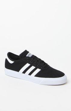 adi Ease Premiere Black & White Shoes