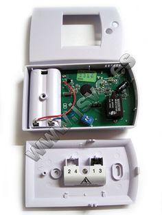 Termostato con pantalla LCD Electro DH Mod.: 11.806 apto para calefacción y aire acondicionado. www.jsvo.es