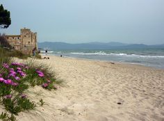 One of the best beaches in Maremma Tuscany: Torre Mozza.