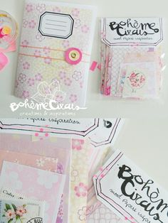 Image of Pink mood papers
