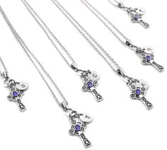 bridesmaids necklace sets