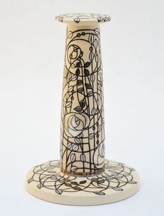Dennis Chinaworks White Rose Lines Lamp – UK Art Pottery White Roses, Pottery Art, Shades, Accessories, Shutters, Sunglasses, Eye Shadows, Blinds, Ornament