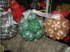 Como Fazer Bola Natalina de Garrafa Pet | Passo a Passo - Recicla e Decora