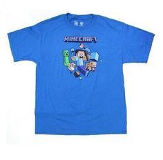 JINX-Minecraft-Camiseta para niños, diseño de fuga de Steve, color turquesa turquesa 8 años #regalo #arte #geek #camiseta