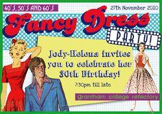 Fancy Dress Party Invite