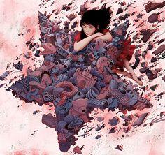 Illustration 2 by Yuta Onoda, via Behance