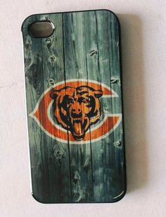NFL Chicago Bears iPhone 4/4s Cases Bears logo by Hiidea on Etsy, $13.99