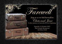 8 Best Farewell Invitation Images Farewell Invitation