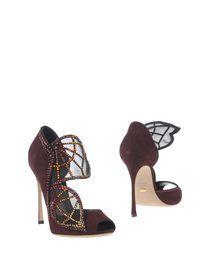 SERGIO ROSSI - Полусапоги и высокие ботинки