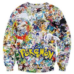 Anime Sweatshirt Pokemon - OtakuForest.com