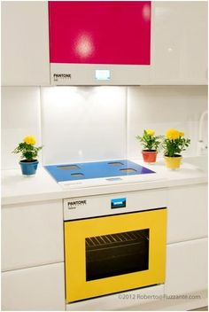 Pantone Kitchen! #design #nerd #pantone