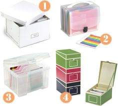 Greeting card organizers Greeting Card Organizer, Greeting Card Storage, Greeting Cards, Condo Decorating, Real Simple, Staying Organized, Diy Cleaning Products, Craft Storage, Storage Organization