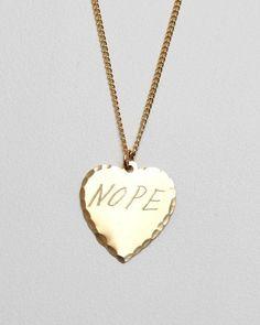 nope: love.