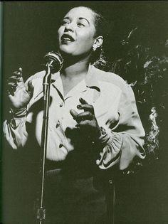 Billie Holiday....