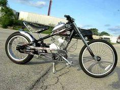 schwinn stingray chopper   Schwinn Stingray OCC Chopper - Black and Chrome with Silver Flames