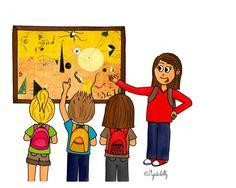Dessin - La sortie scolaire