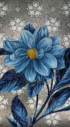 Glass Mosaic FLOWER POWER - Sicis