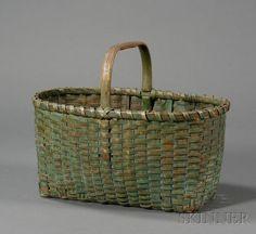 Gathering Basket late 19th c.