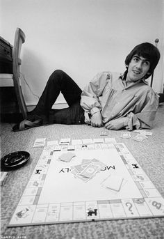 Monopoly with George Harrison