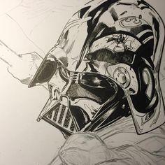 Darth Vader by Clay Mann
