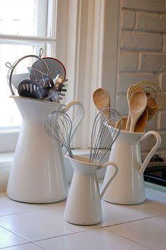#Kitchen Tool Storage - Ikea Pitchers Scandinavian #Modern…