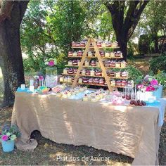 Mesa dulce rústica / vintage Sweettable rustic / Candy bar