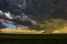Storm Over the Prairies  Photo by Allison Blackburn-Billings — National…