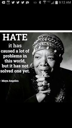 One great lady, another great quote.