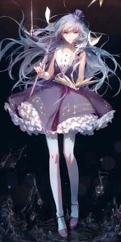 Music Anime Wallpaper Hatsune Miku Ideas For 2019 Art Anime, Anime Artwork, Anime Art Girl, Anime Girls, Anime Girl Dress, Vocaloid, Loli Kawaii, Kawaii Anime, Manga Girl