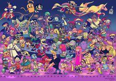 Melanin Poppin' — rascalentertainments: Cartoon Network 20th...
