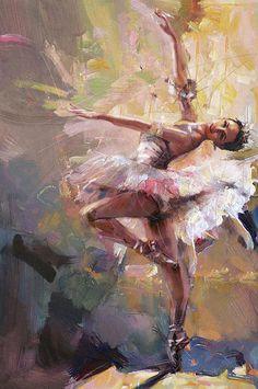 'Balerina' by Mahnoor Shah, via fineartamerica.