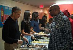 First family visits D.C. shelter, highlights homeless veterans' plight - The Washington Post