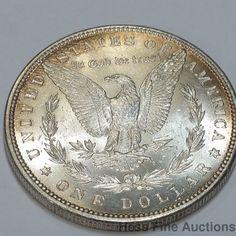 Super 1880 Morgan Liberty Silver Dollar Coin