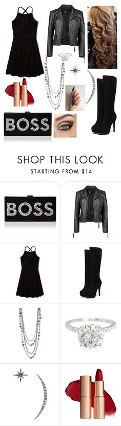 """""""Untitled #907"""" by floridaflower11 ❤ liked on Polyvore featuring Milly, Boohoo, Hollister Co. and Federica Tosi"""
