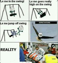 Funny Rage Comics Swing