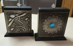 Commissioned Toothpick Holders for two sisters as part of their kitchen teas. Metal Embossing, Pewter Metal, Foil Art, Metal Art, Chalk Paint, Metal Working, Decoupage, Decorative Boxes, Tegucigalpa