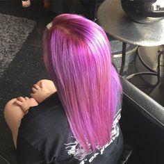Violet hair love